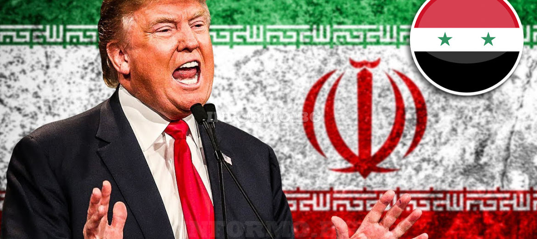 тръмп иран сирия
