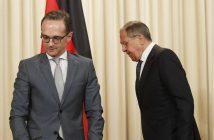 Sergei Lavrov meets German Foreign Minister Heiko Maas
