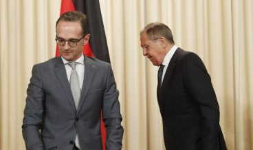 Sergei Lavrov meets German Foreign Minister Heiko Maas