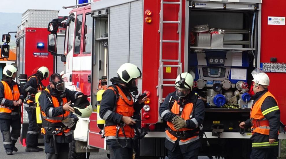 пожарна, пожарникари