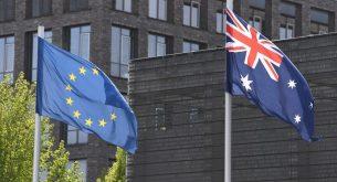 австралия, европейски съюз