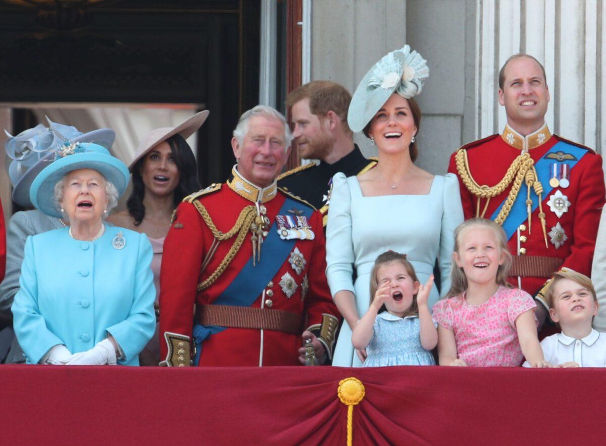 кралица елизабет втора, кралско семейство