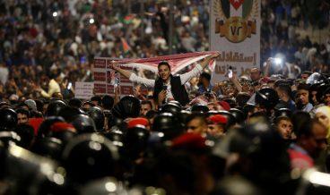 Йордания, протести