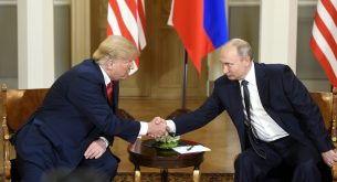 Russia US Summit in Helsinki