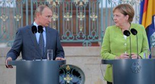 Russian President Vladimir Putin visits Berlin