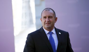 epa07017363 President of Bulgaria Rumen Radev during the 14th informal meeting of the Arraiolos Group in Rundale, Latvia, 13 September 2018. The Arraiolos Group meeting brings together heads of states from 13 countries - Austria, Bulgaria, Croatia, Estonia, Finland, Germany, Greece, Hungary, Italy, Latvia, Malta, Poland, Portugal, and Slovenia - on 13 and 14 September 2018.  EPA/Toms Kalnins