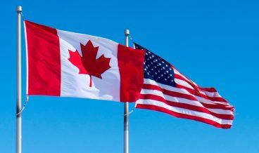 САЩ Канада