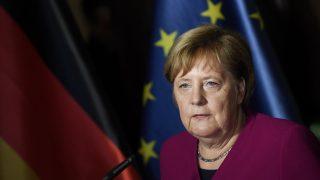 Ангела Меркел, EPA/FILIP SINGER