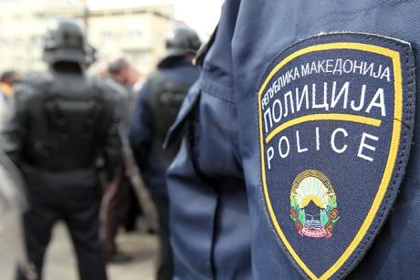 полиция македония