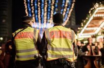 Christmas market security against terror