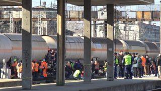 Пловдив-гара-влак-дерайлирал