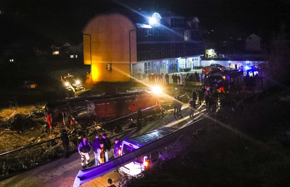 13 people dead and at least 10 were injured after bus crash