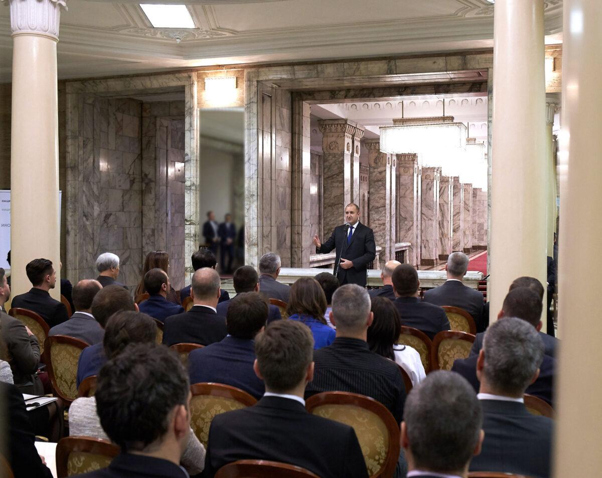 снимка: Пресцентър, Президентство