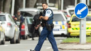 Gunmen kill at least 40 people at mosques in Christchurch