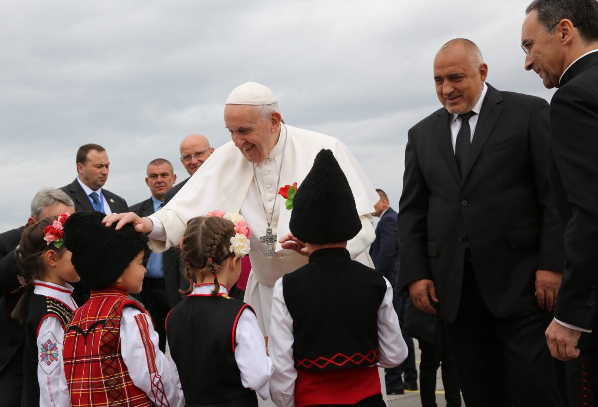 папа Франциск, Бойко Борисов