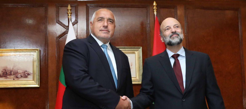 Борисов: Трябва да работим за търговско-икономическото сътрудничество с Йордания (видео)