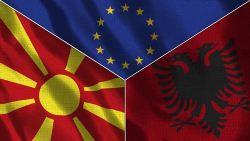 Македония Албания ЕС
