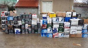 Голямо количество нелегален алкохол е открито при спецакция в село Девинци и град Червен бряг