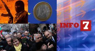 Info7: PR на гърба на Апостола, консенсус за еврото и агресията в Германия