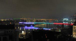 МВнР: Символи на Белград грейнаха в цветовете на българския трибагреник (снимки)