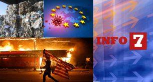 Info7: Акция срещу боклуците, свежи пари от ЕС към България и расова война в САЩ