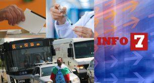 Info7: София под блокада, подкрепа за протестите, но не и за предсрочни избори и ваксината срещу COVID-19