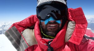 Climbers are looking for Atanas Skatov under K2
