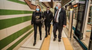 """Фандъкова: На 24 април пускаме за движение 4-те км. на третата метролиния през """"Овча купел"""""""