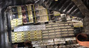 3670 кутии цигари и над 534 л. алкохол задържаха митнически служителипрез празничните дни